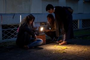 Taller Iluminación exterior MasterDIA2015 (Foto Álvaro Valdecantos)